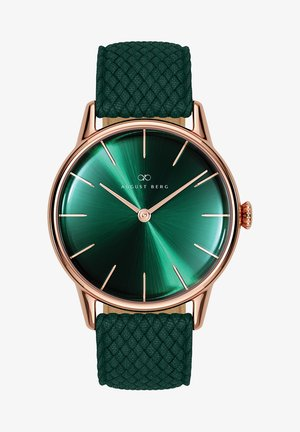 UHR SERENITY GREENHILL DARK GREEN PERLON 32MM - Ure - sunray green