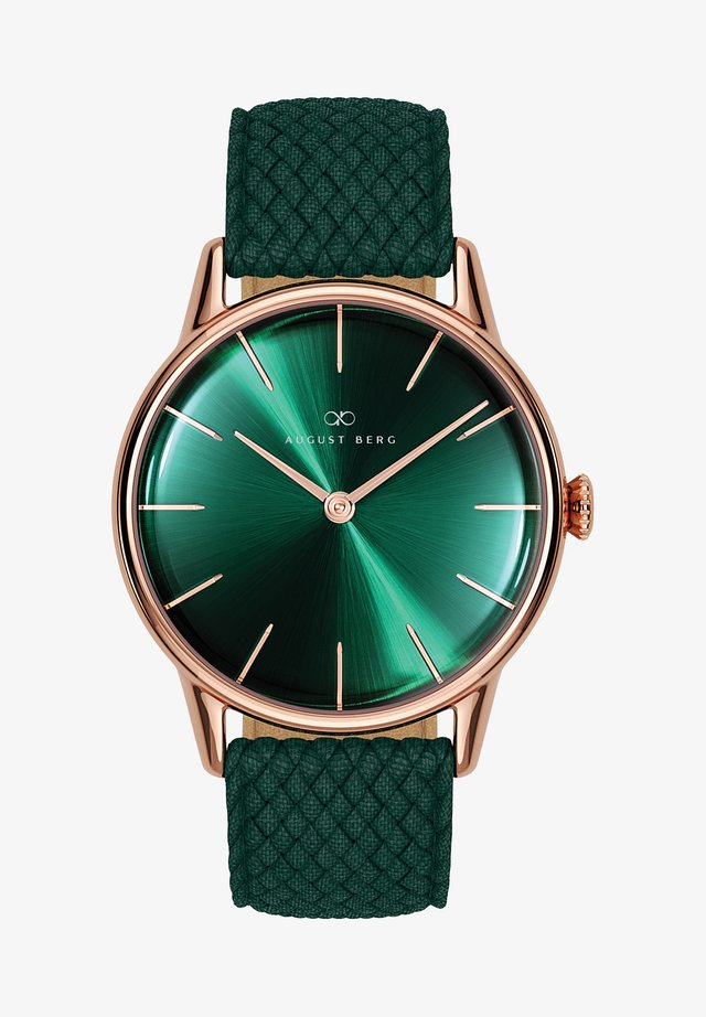UHR SERENITY GREENHILL DARK GREEN PERLON 32MM - Orologio - sunray green