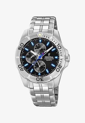 MULTIFUNCION - Chronograph watch - silver-coloured