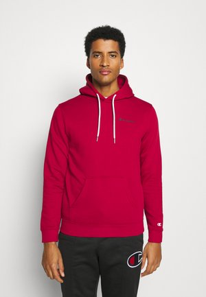 LEGACY HOODED - Luvtröja - dark red
