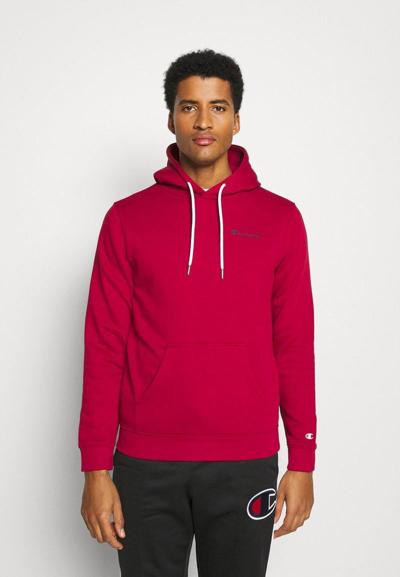 Champion - LEGACY HOODED - Hoodie - dark red