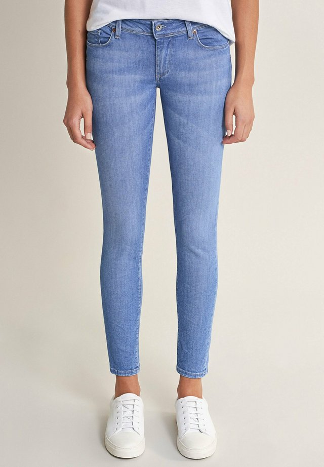 PUSH UP - Jeans Skinny - blau