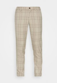 Only & Sons - ONSMARK PANT CHECK - Tygbyxor - chinchilla - 3