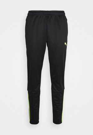 TEAMLIGA TRAINING PANTS - Träningsbyxor - black/yellow alert