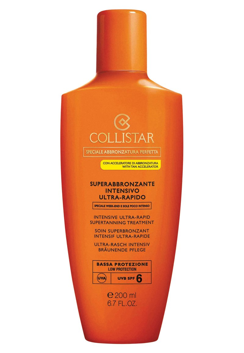 Collistar - INTENSIVE ULTRA-RAPID SUPERTANNING TREATMENT SPF 6 - Sun protection - -