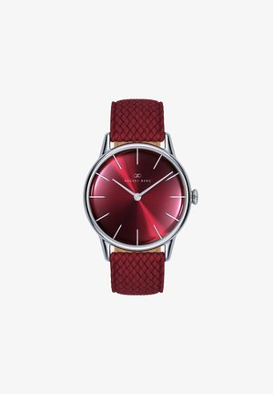 UHR SERENITY BURGUNDY SILVER BURGUNDY PERLON 32MM - Watch - sunray red