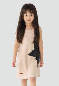 Rora - Korte jurk - beige - 0