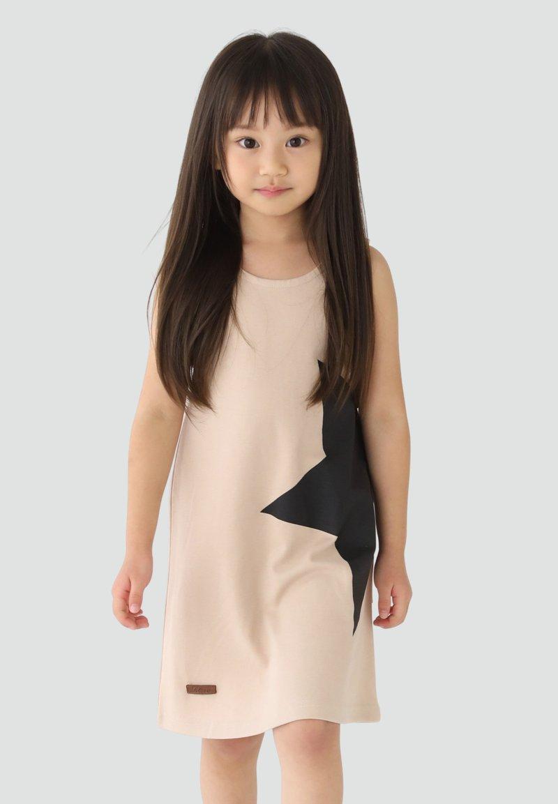 Rora - Korte jurk - beige
