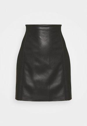 SKIRT VERONICA - Mini skirt - black