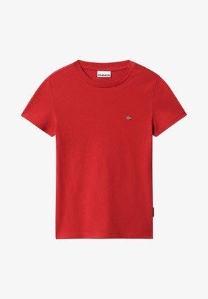 SALIS - Basic T-shirt - old red