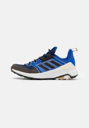 TERREX TRAILMAKER PRIMEGREEN - Chaussures de marche - bold blue/core black/beige tone