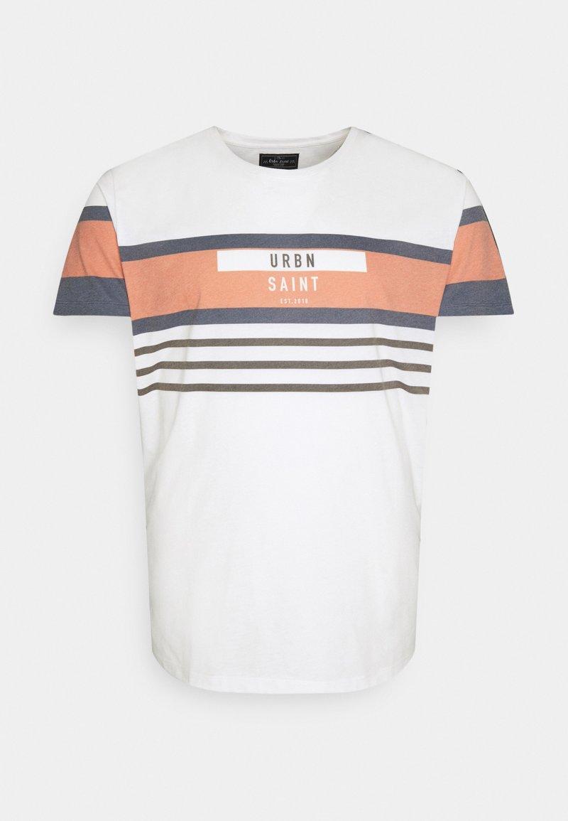 URBN SAINT - TARU TEE - T-shirt print - inca gold