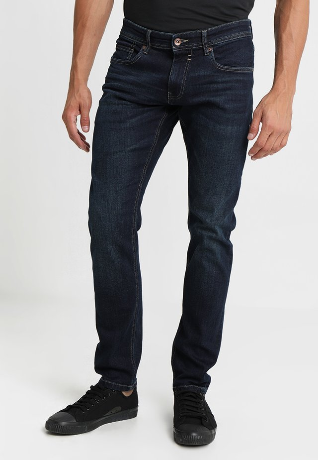 Jeans straight leg - blue dark wash