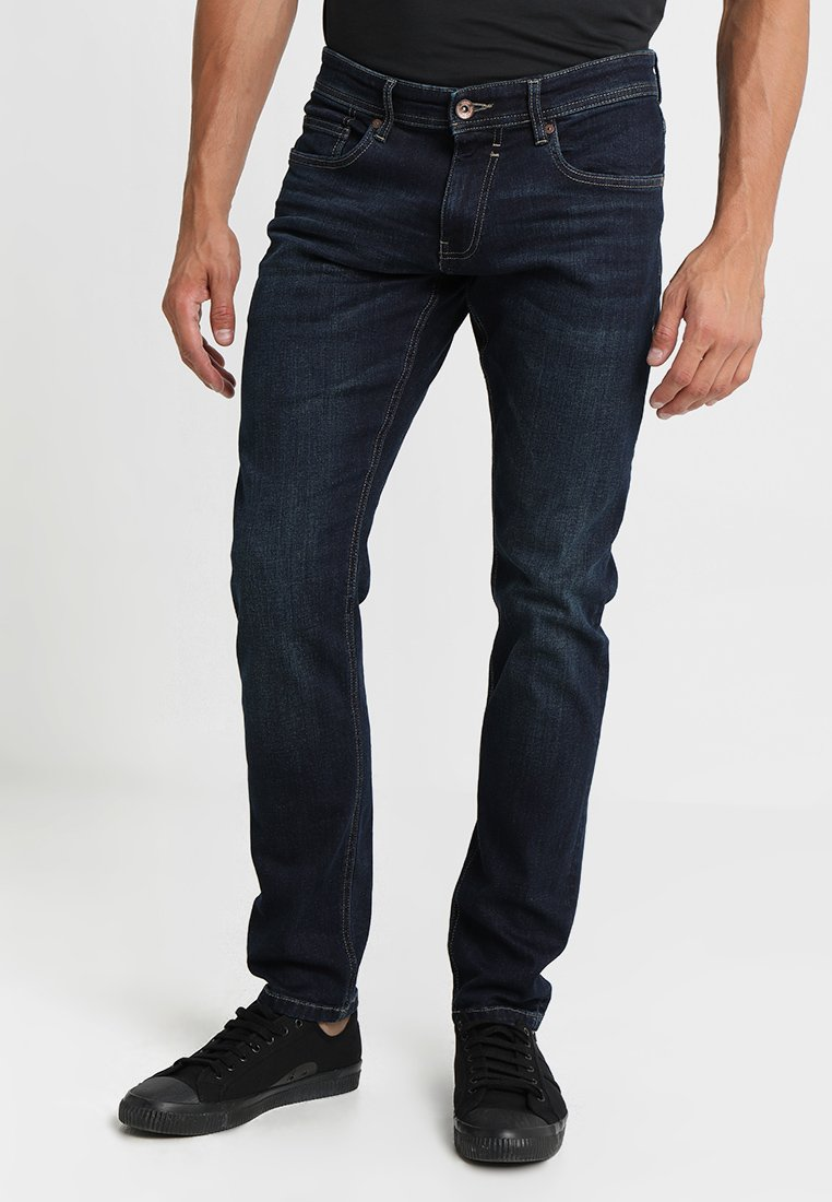 Esprit - Jeansy Straight Leg - blue dark wash