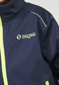 ZIGZAG - Waterproof jacket - 2048 navy blazer - 4
