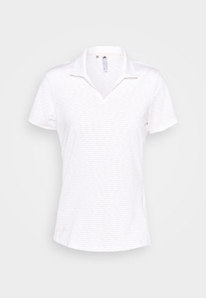 PERFORMANCE SPORTS GOLF SHORT SLEEVE - T-shirt z nadrukiem - white