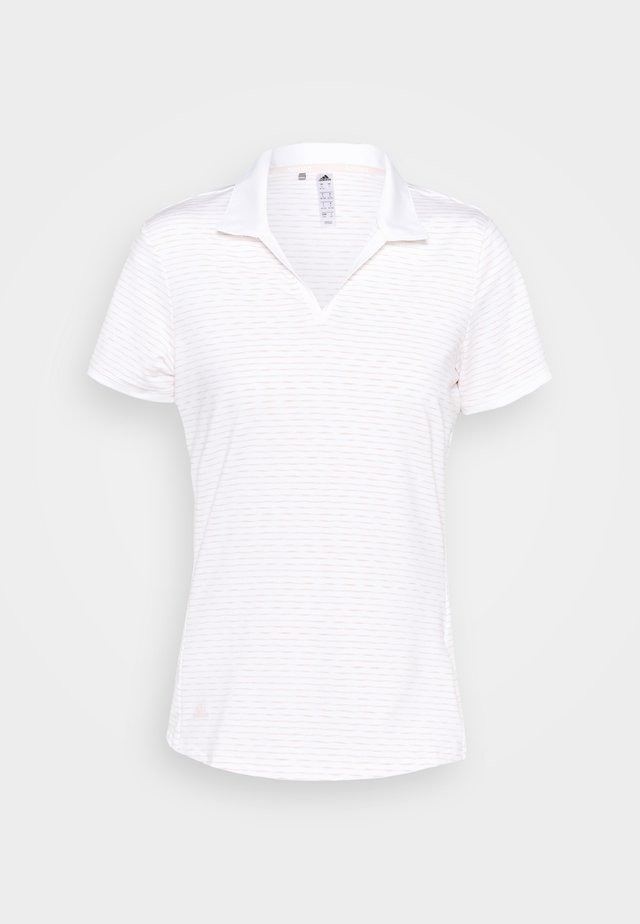 PERFORMANCE SPORTS GOLF SHORT SLEEVE - Triko s potiskem - white