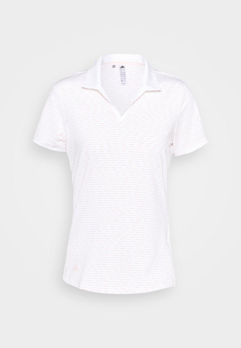 adidas Golf - PERFORMANCE SPORTS SHORT SLEEVE - Polotričko - white