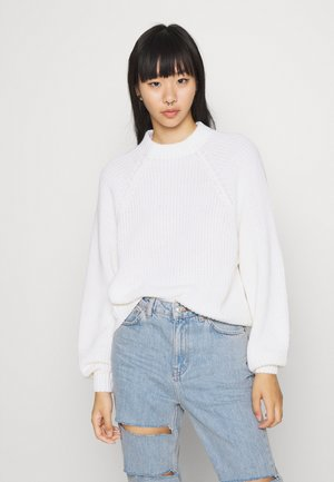 GITTY  - Strickpullover - white