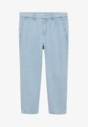 RELAXED FIT - Straight leg jeans - hellblau
