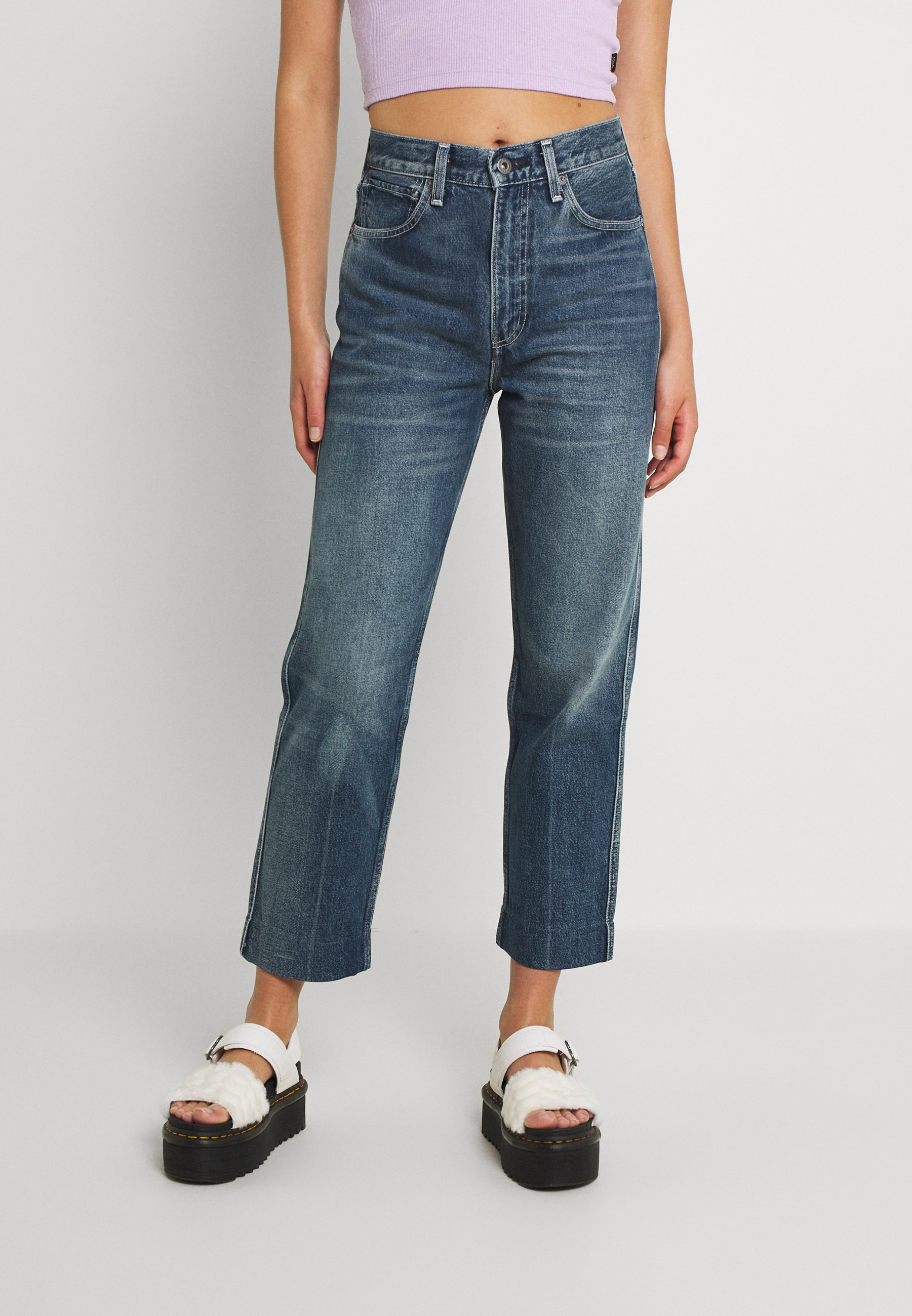 Women LMC THE COLUMN - Straight leg jeans