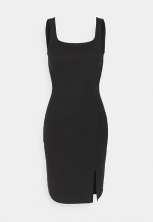 VMEDNA SHORT DRESS - Jersey dress - black