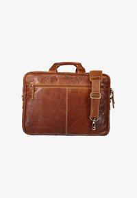 State of Art - Laptop bag - cognac plain - 0