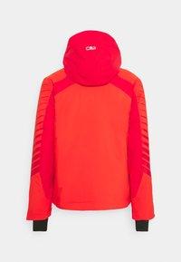 CMP - MAN JACKET FIX HOOD - Ski jacket - tango - 9