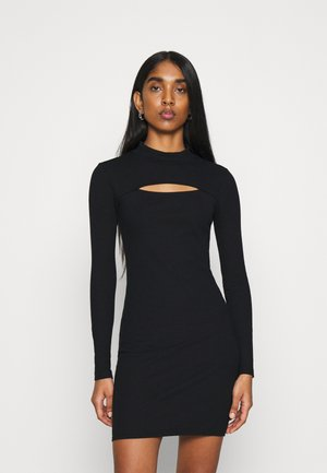 MINI  - Jersey dress - black