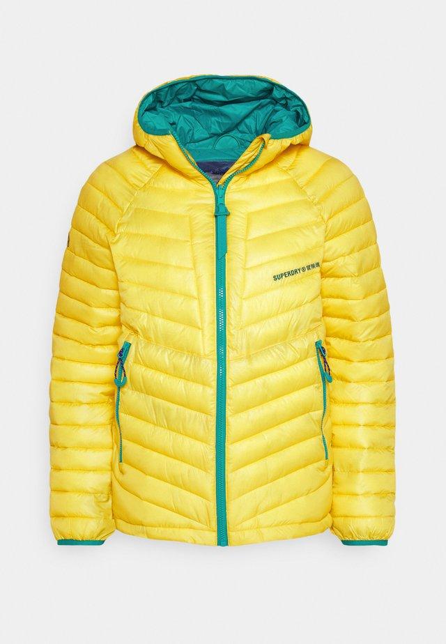 ALPINE PADDED MID LAYER - Down jacket - blazing yellow