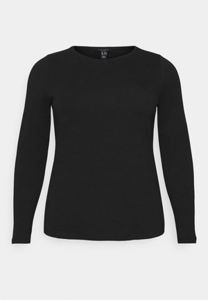 CREW - Long sleeved top - black