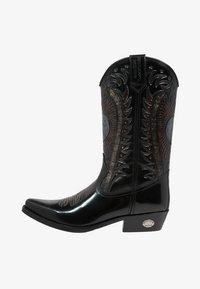 UNISEX - Cowboy/Biker boots - antik schwarz