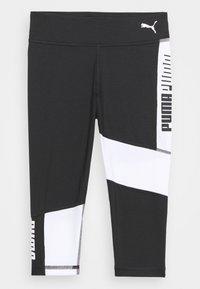 Puma - RUNTRAIN - Leggings - black/white - 0