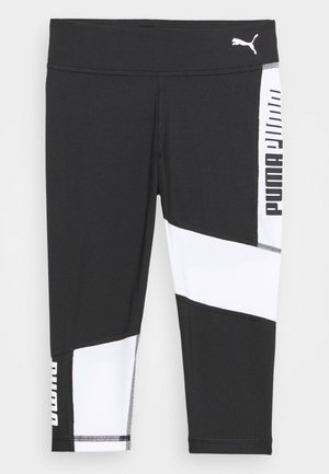 RUNTRAIN - Leggings - black/white