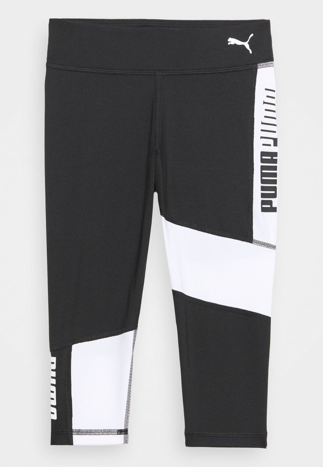 RUNTRAIN - Punčochy - black/white
