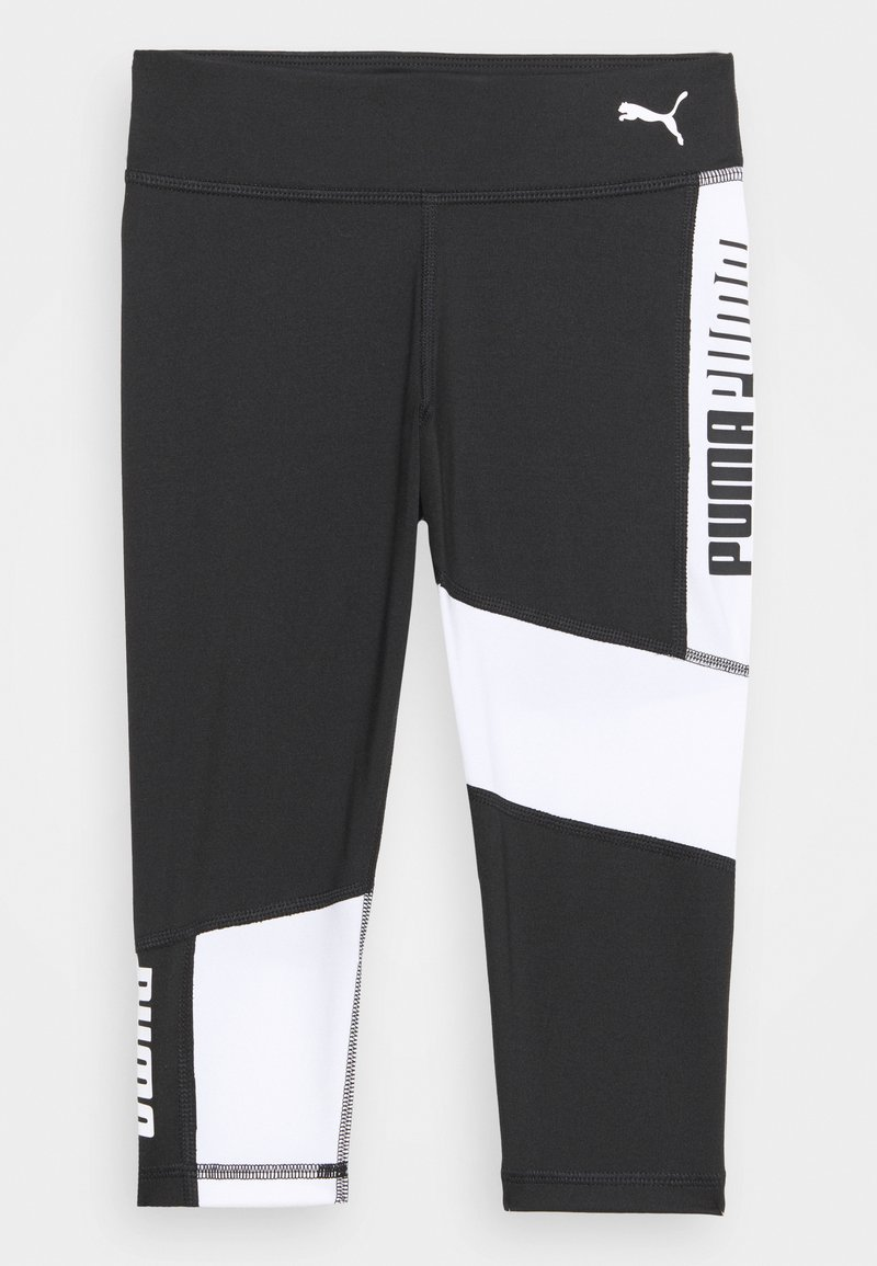 Puma - RUNTRAIN - Leggings - black/white