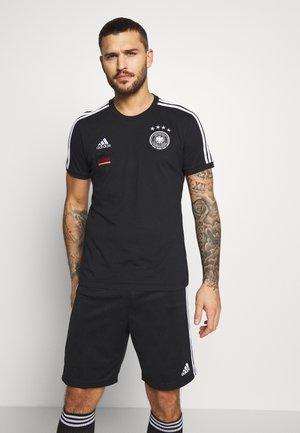 DFB DEUTSCHLAND 3S TEE - Squadra nazionale - black