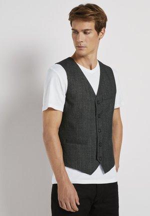 Waistcoat - dark grey structure