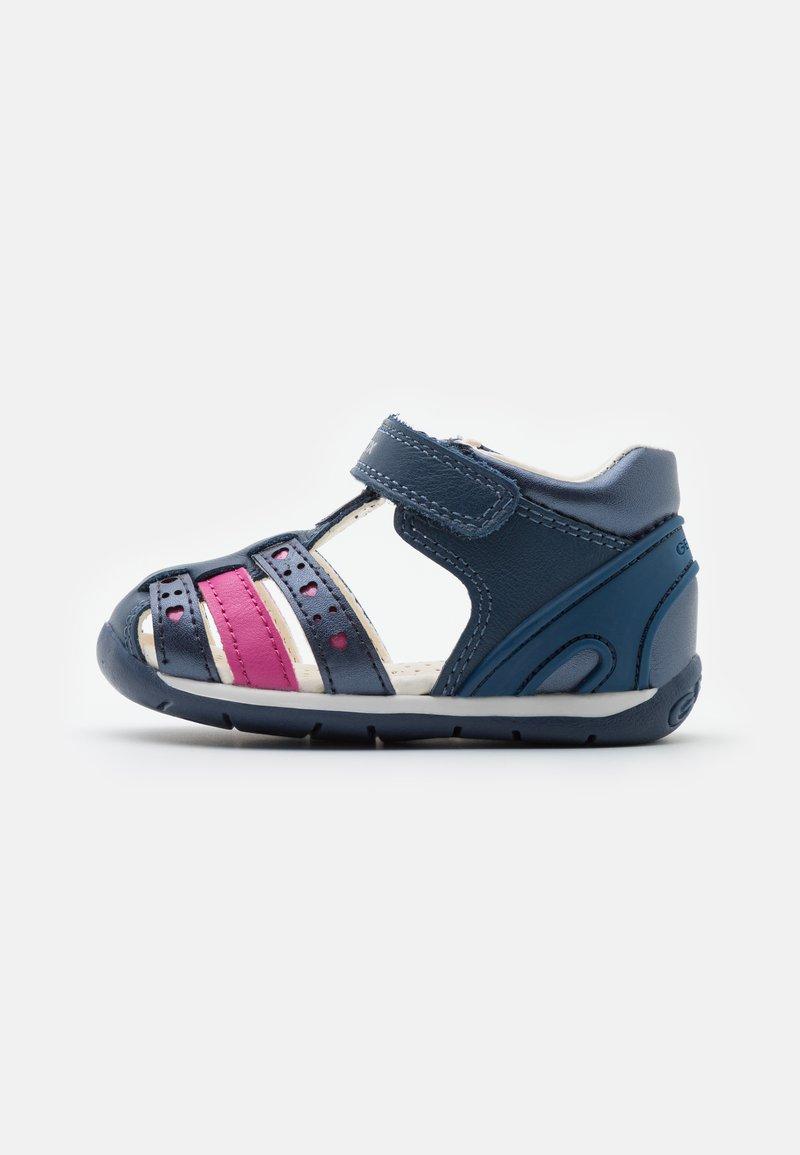 Geox - EACH GIRL - Sandals - avio/fuchsia