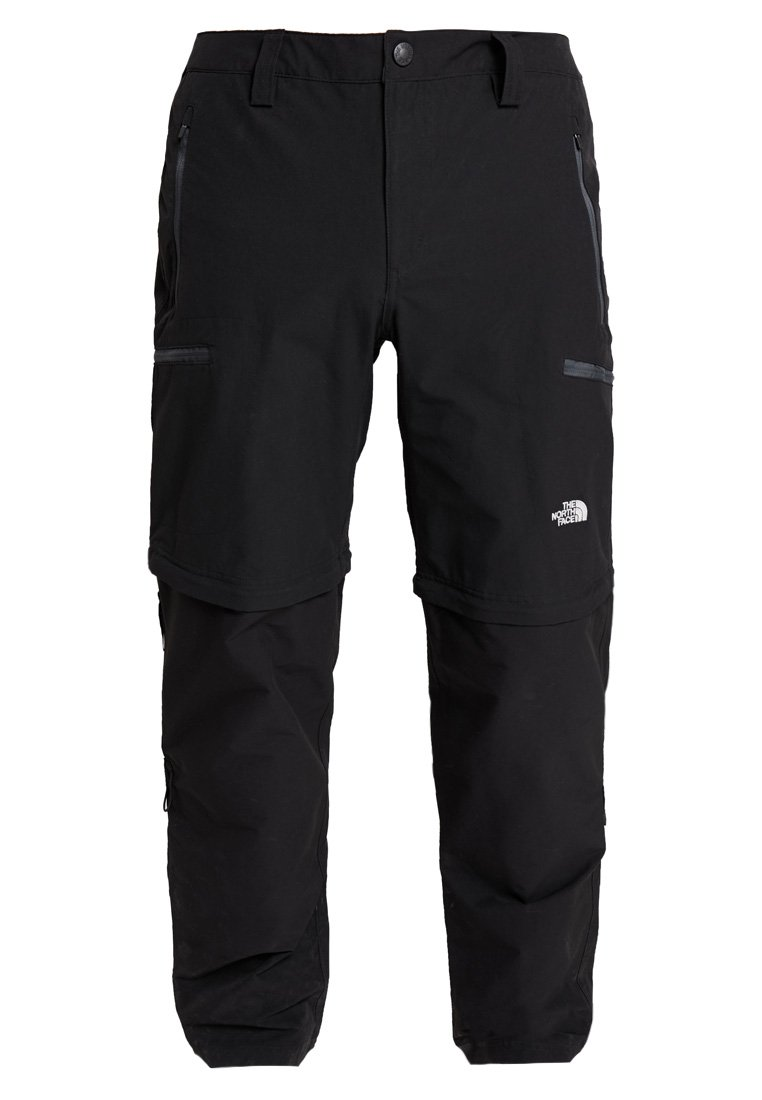 The North Face EXPLORATION CONVERTIBLE PANT - Friluftsbukser - black