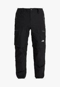 EXPLORATION CONVERTIBLE PANT - Outdoor trousers - black