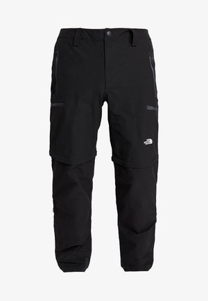 EXPLORATION CONVERTIBLE PANT - Stoffhose - black