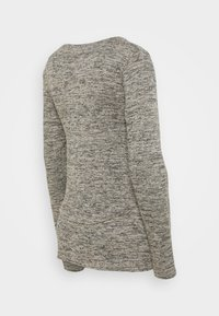 Cotton On - MATERNITY 2 IN 1 TOP - Long sleeved top - latte twist - 1