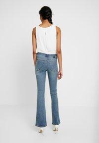 Dr.Denim Tall - SONIQ - Flared Jeans - west coast blue - 2