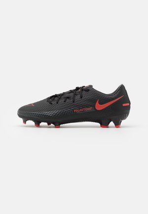 PHANTOM GT ACADEMY FG/MG - Moulded stud football boots - black/chile red/dark smoke grey