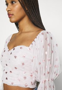 Lace & Beads - CRISTINA - Blusa - nude - 5