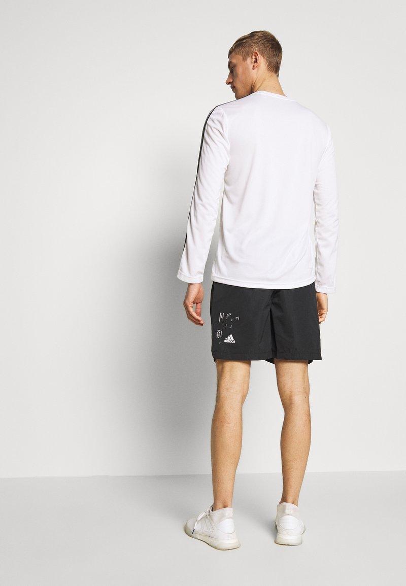adidas Performance - ATHLETICS TECH SPORT SHORTS - Sportovní kraťasy - black