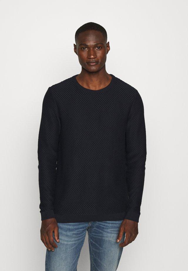 FIELD CREW NECK - Pullover - dark blue