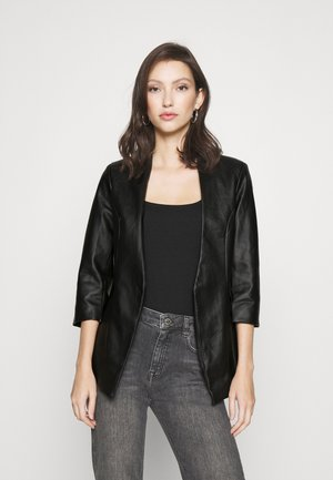 VILUPPI COATED  - Blazer - black