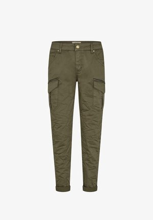 CARGOHOSE CAMILLE - Cargo trousers - green